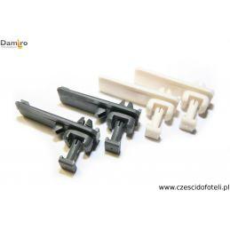 Mocowanie siedziska fotela / szyny plastikowe siedzenia ISRI 6860 NTS