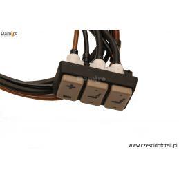 Zawór regulacji lędźwiowej i wysokości fotel / siedzenie  ISRI 6500