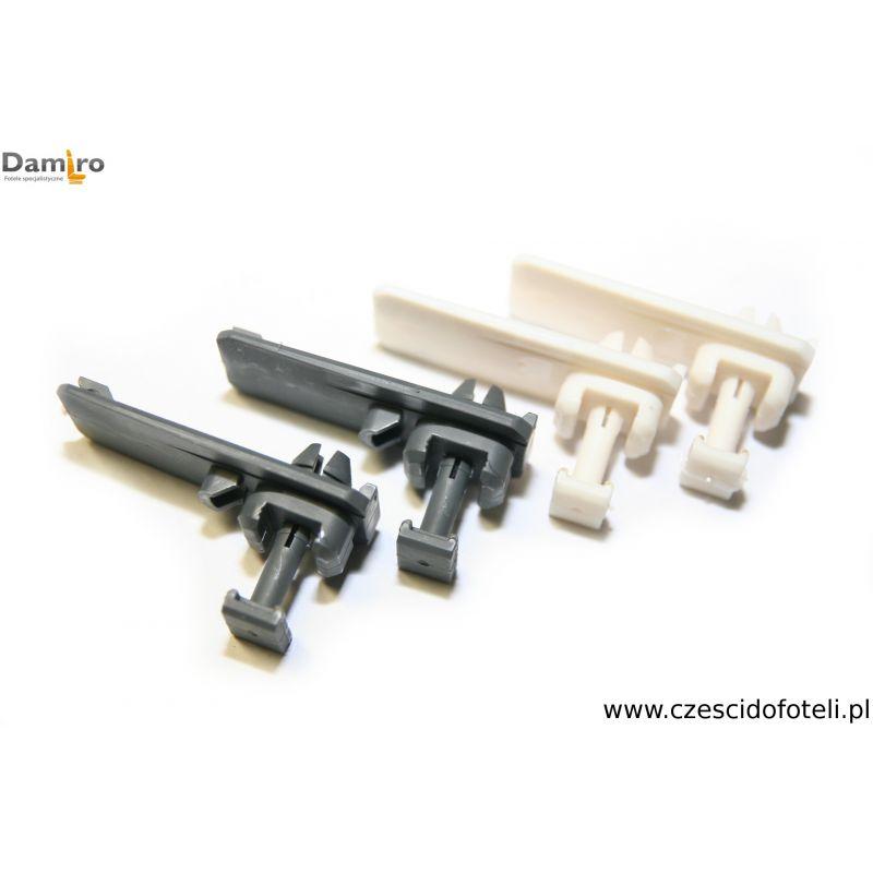 Mocowanie siedziska fotela / szyny plastikowe siedzenia ISRI 210364 914516-05