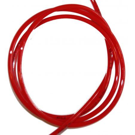 Przewód powietrzny fi 4 mm czerwony