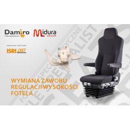 Wymiana głównego zaworu w fotelu kierowcy marki ISRI- naprawa foteli