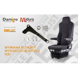Wymiana blokady wysokości w fotelu kierowcy marki ISRI- naprawa foteli