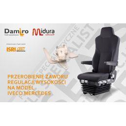 Przeróbka zaworu fotelu kierowcy marki ISRI- naprawa foteli