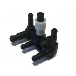 Złączka przewodów - Trójnik / Redukcja 6mm - 4mm